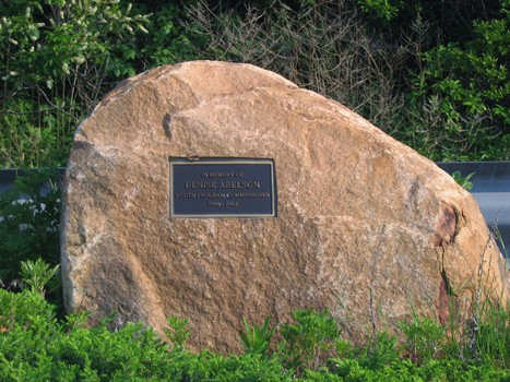 Denis Ableson memorial Rock