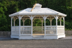 Gazebo at belle Terre Beach