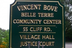 belle terre community center sign-8-2A