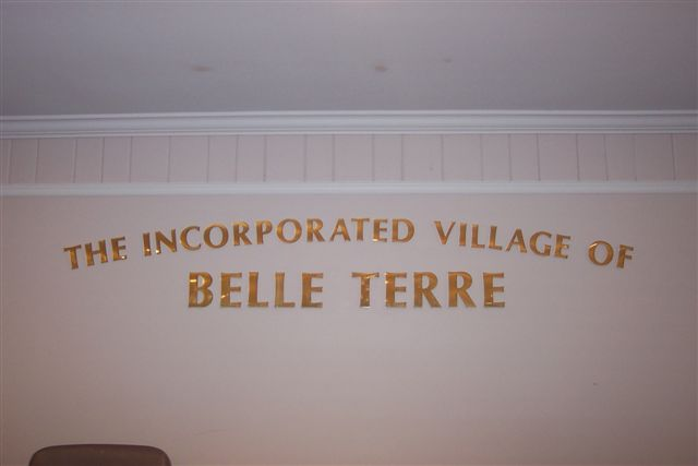 belle terre incorporated village sign-8-2
